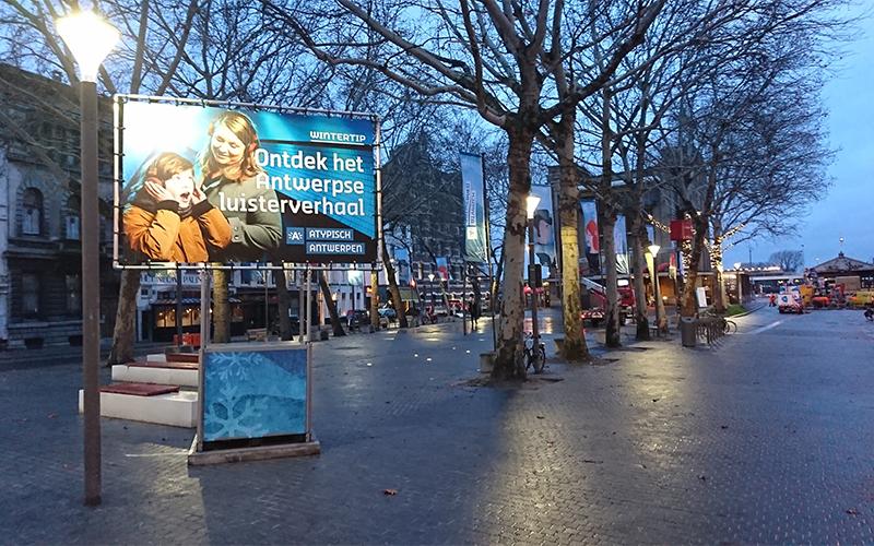 Publibox voor stad Antwerpen